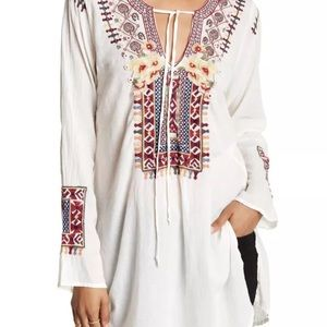Johnny Was *Biya* Tunic top XL